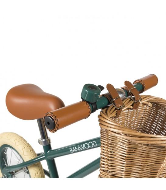 Green Balance Bike, Retro Kids Bike