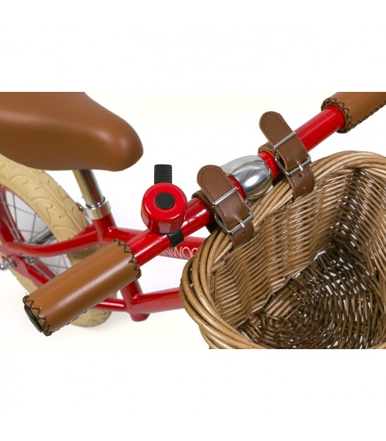 Red Balance Bike | Red Kids Bike | Retro Kids Bicycle