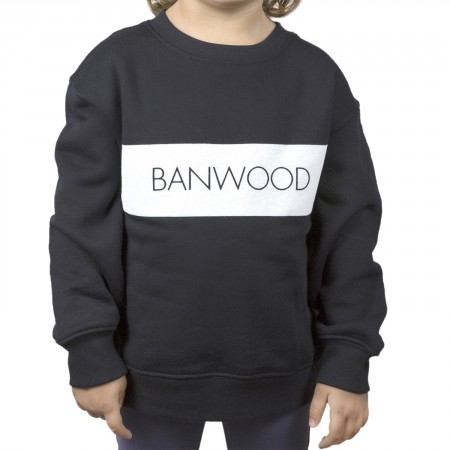 navy blue sweatshirt for kids