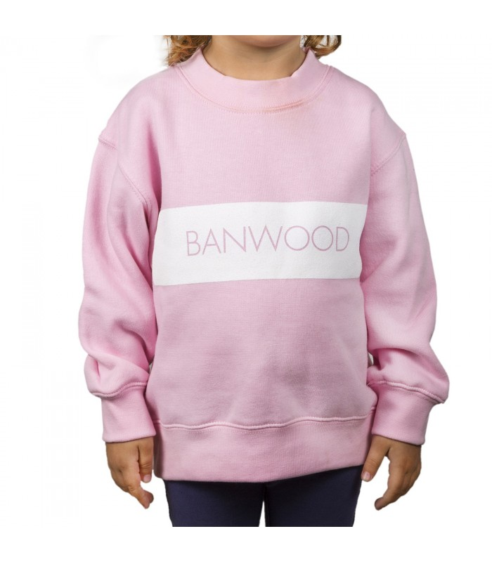 c4660771830 Sudadera (rosa) - bicicletas Banwood