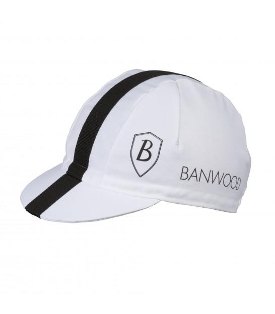 Gorra de ciclismo blanca para niños