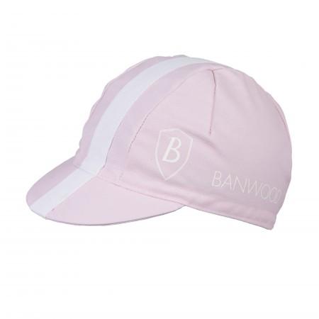 Gorra de ciclismo rosa para niños
