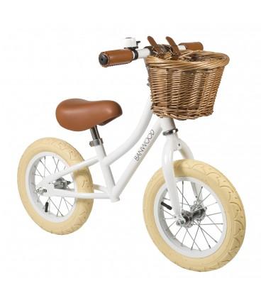 white bike for kids