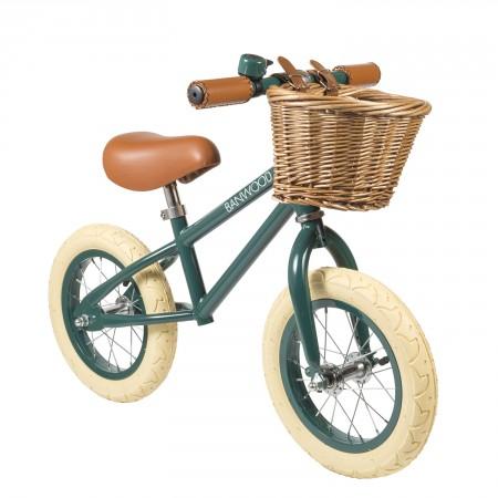 bicicleta verde para niños