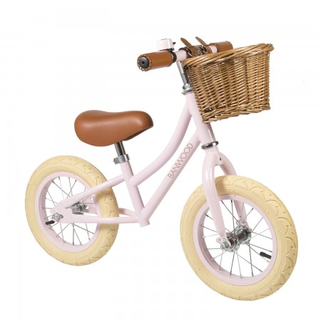 bicicleta rosa para niños