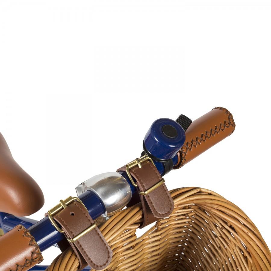 bicicleta azul marino para niños