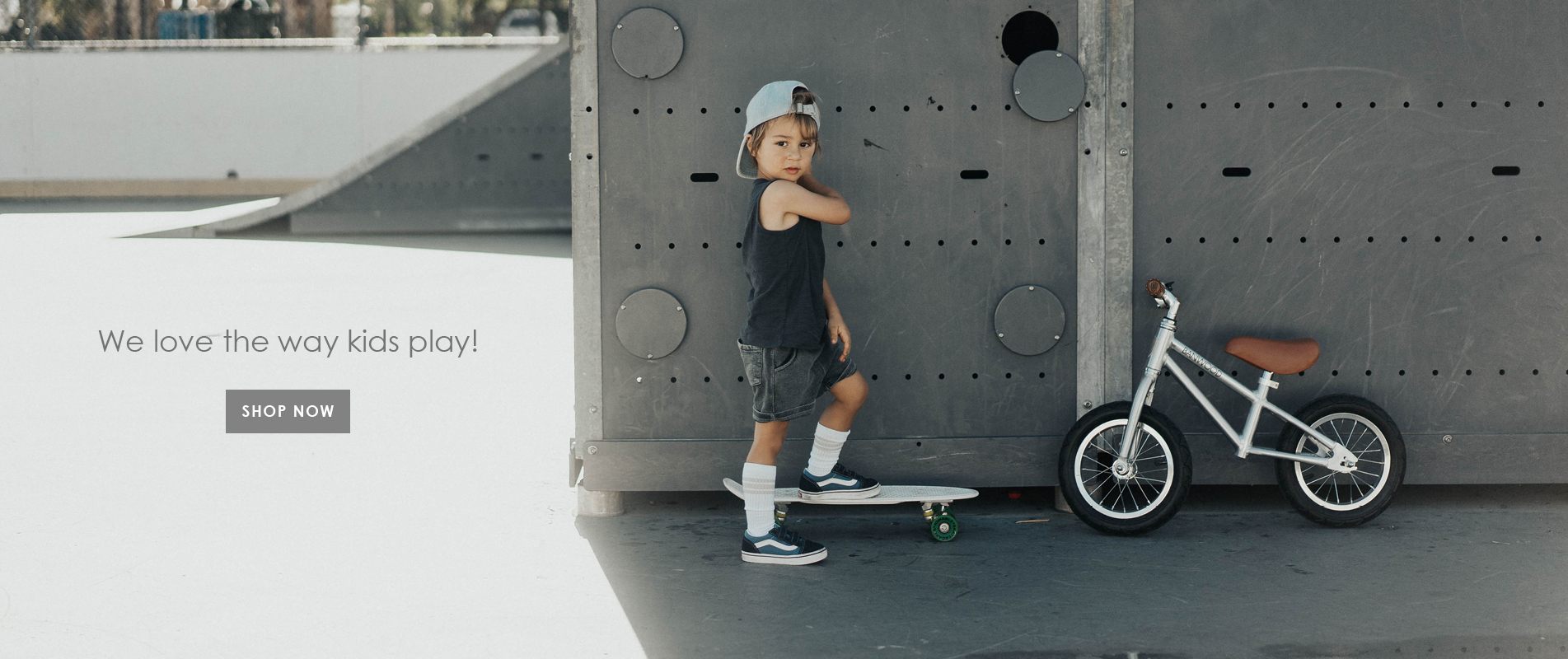 Banwood Chrome Balance Bike